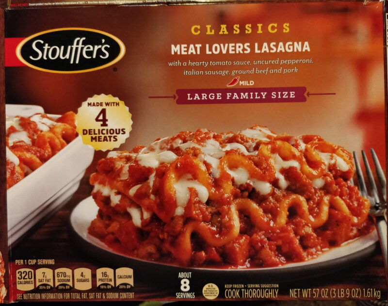 Necessary steps to know how to cook Stouffer's frozen lasagna