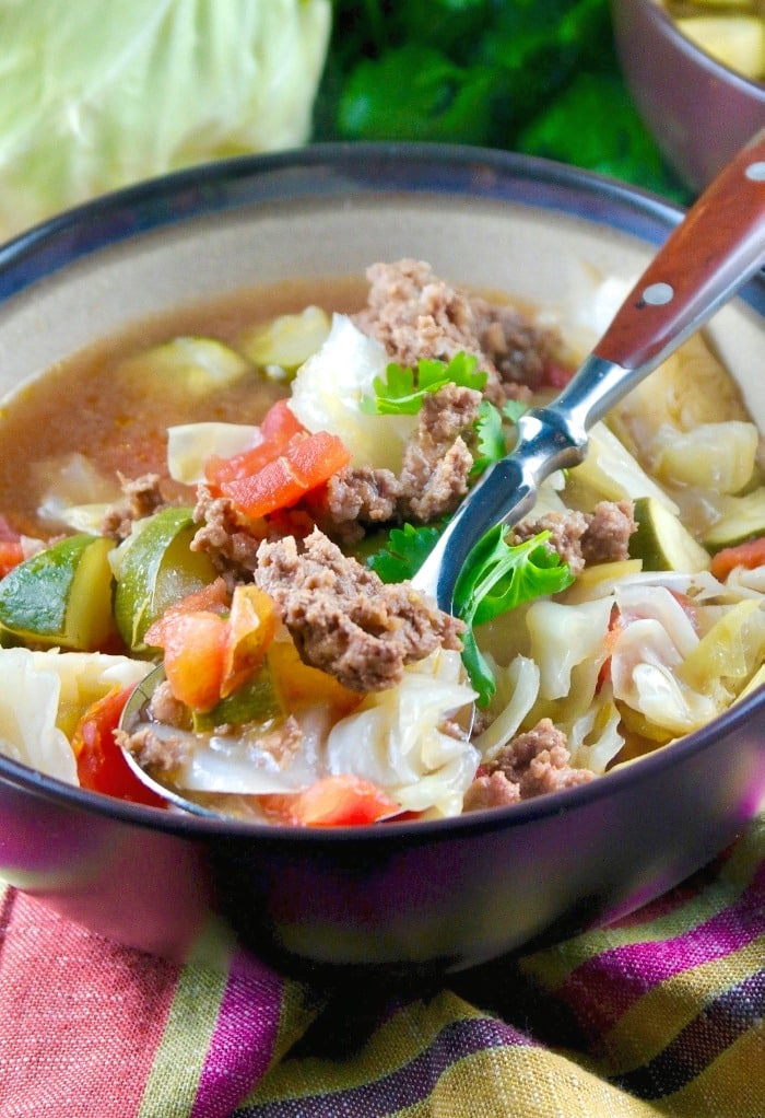 Beef Cabbage Soup A