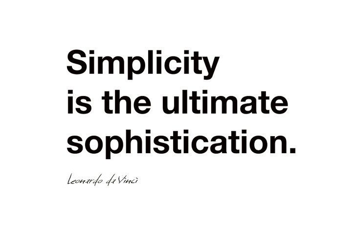 Make life simple quotes