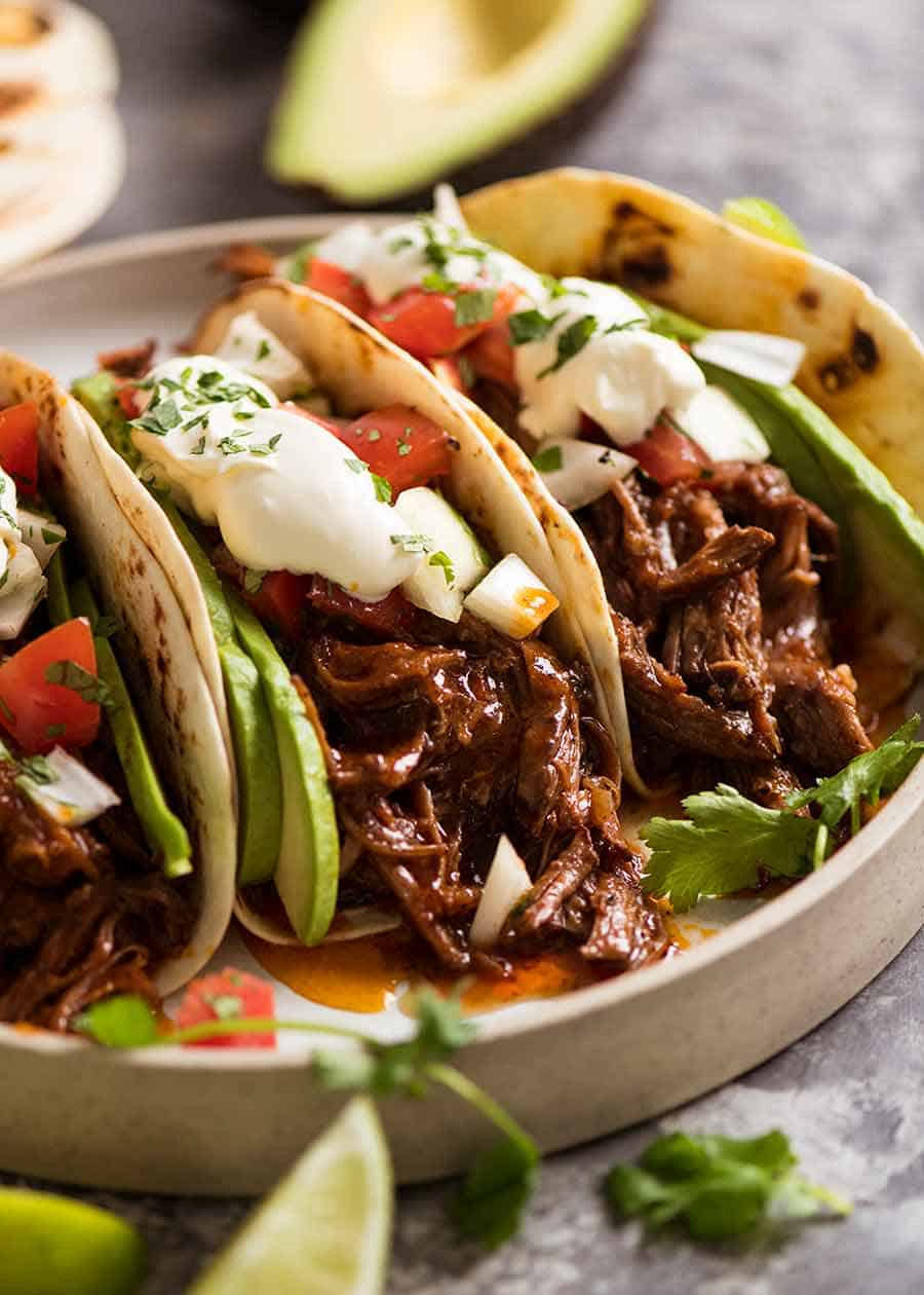 Mexican Shredded Beef Tacos 5