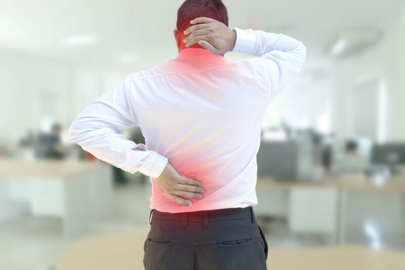 Soft tissue injury muscle pain