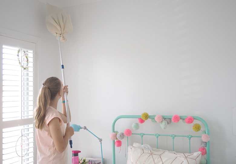 how to clean away cobwebs naturally 2