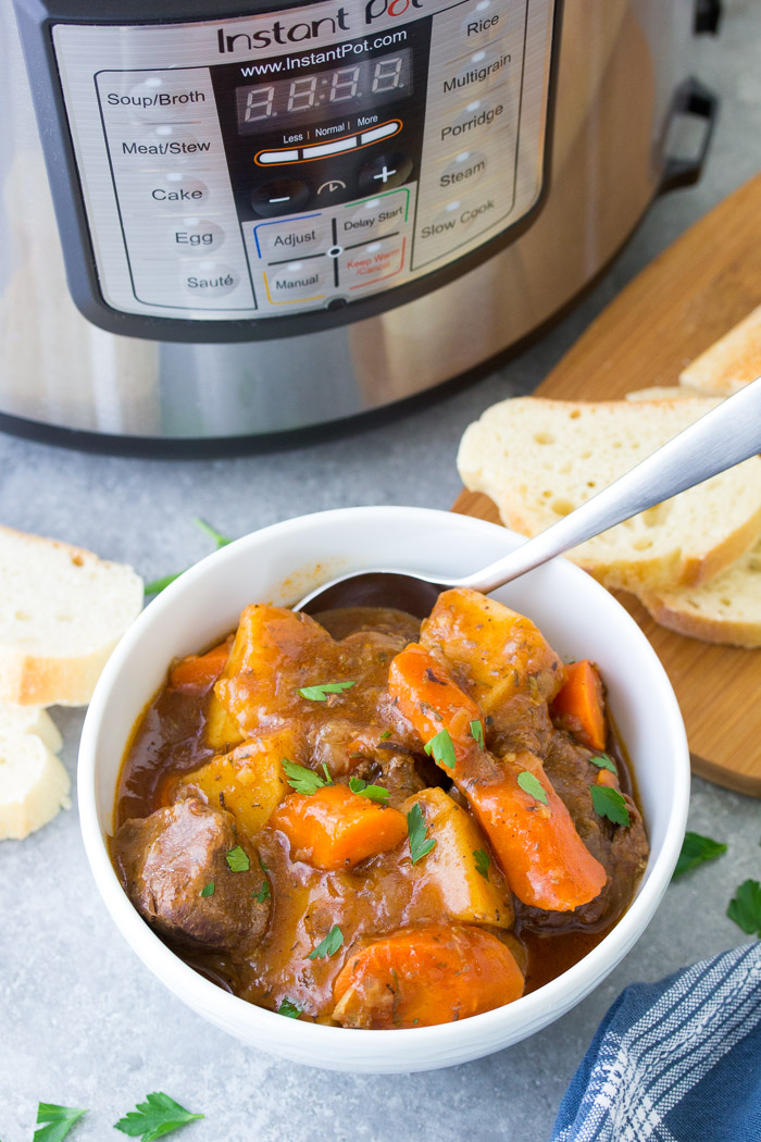 How to cook stew meat chili in instant pot