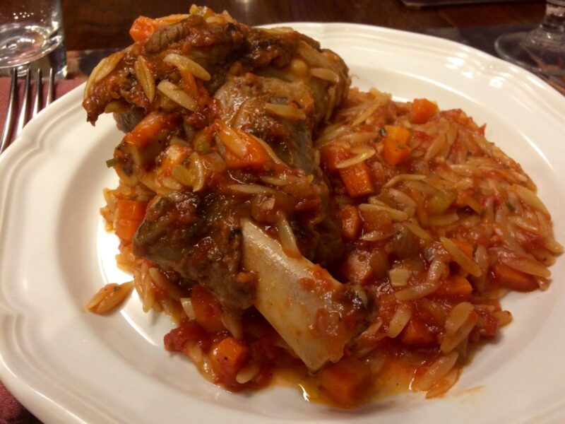 Lamb shanks instant pot with orzo