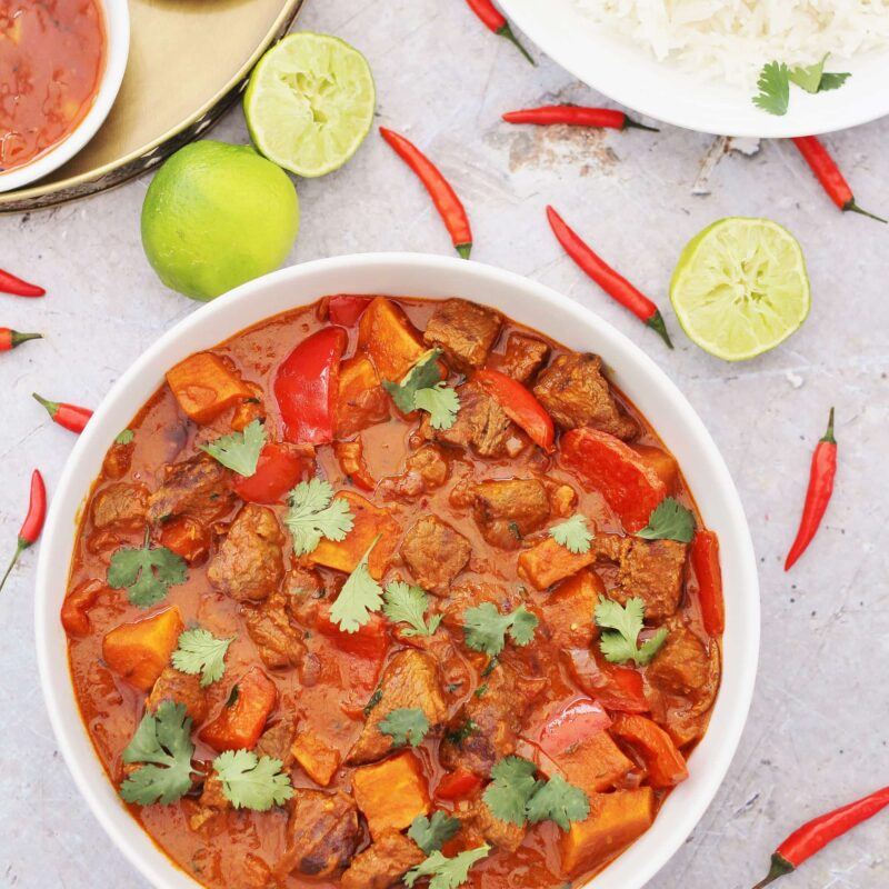 How to make leftover beef stew curry