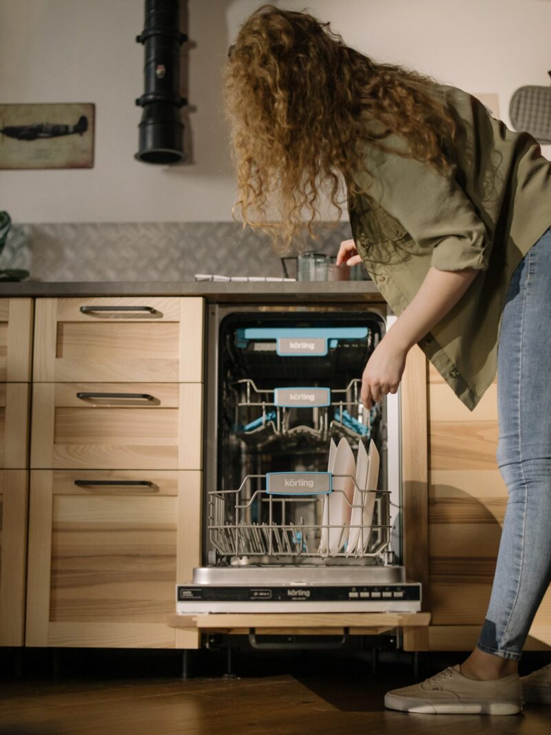 Dishwasher leaving gritty residue on dishes