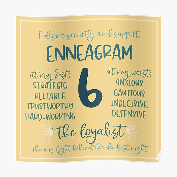 What is the Enneagram type 6?