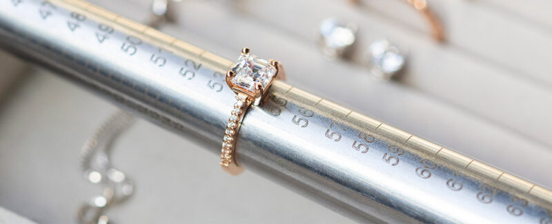 How many sizes can a ring be sized up?