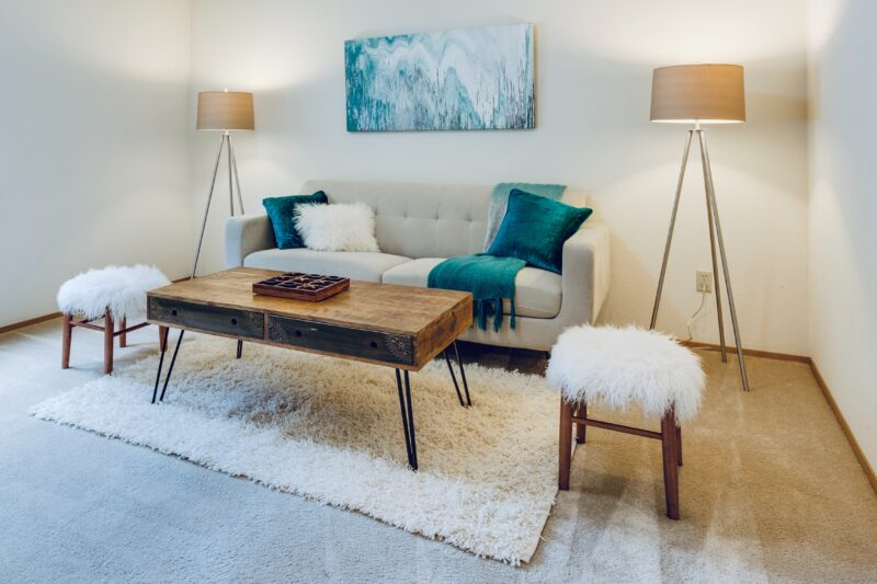 How often should carpet be replaced in a rental property