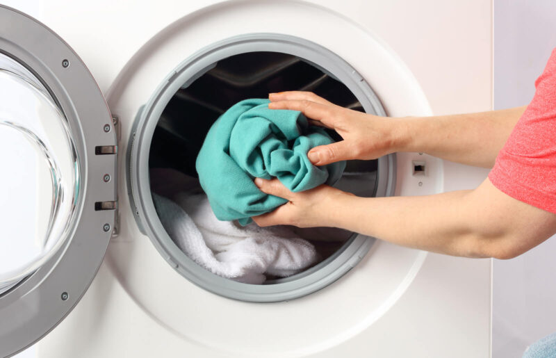 Dry an electric blanket using the dryer
