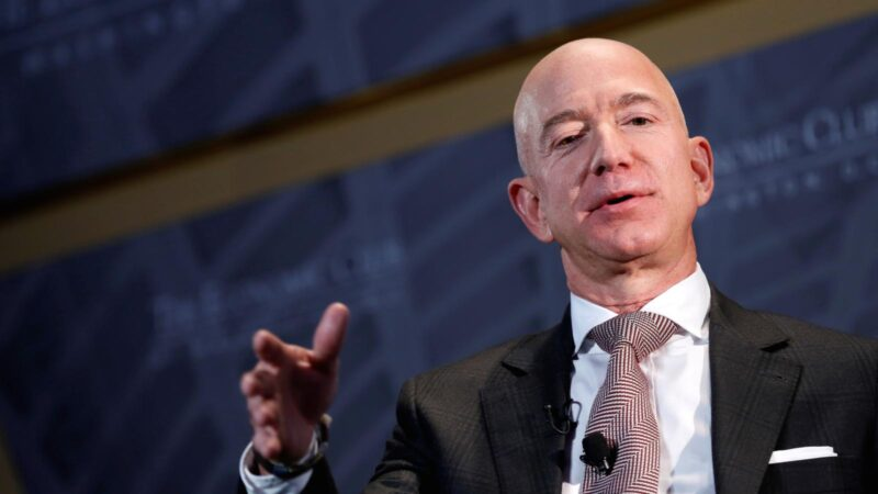 What is Jeff Bezos' personality type?