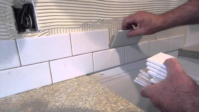 How to tile a wall?