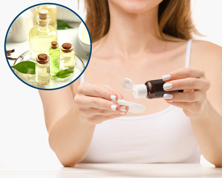 Removing skin tags with tea tree oil