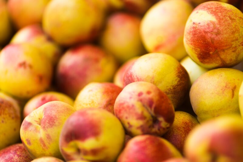 How to eat a nectarine