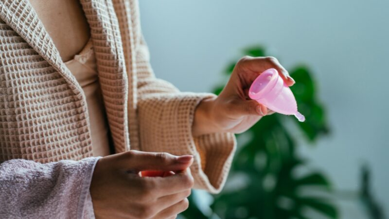 menstrual cup smell