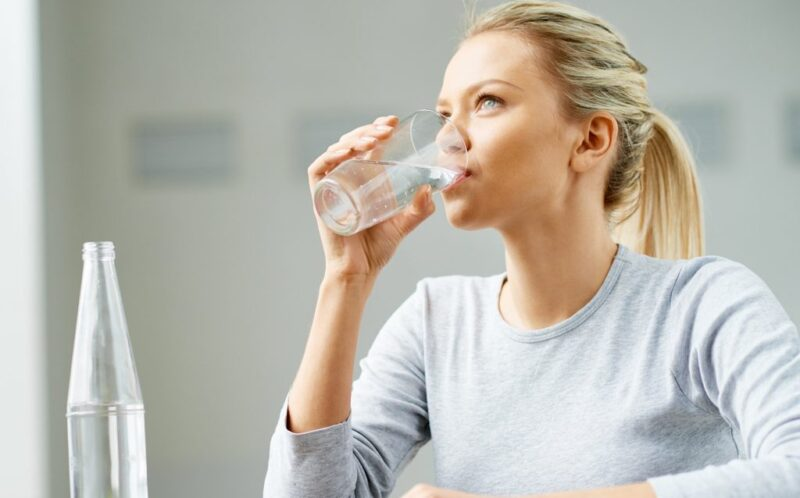 How long does it take for water to travel through our body?