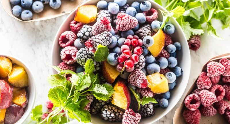 Don't be afraid of the heat with these ways of eating frozen fruit