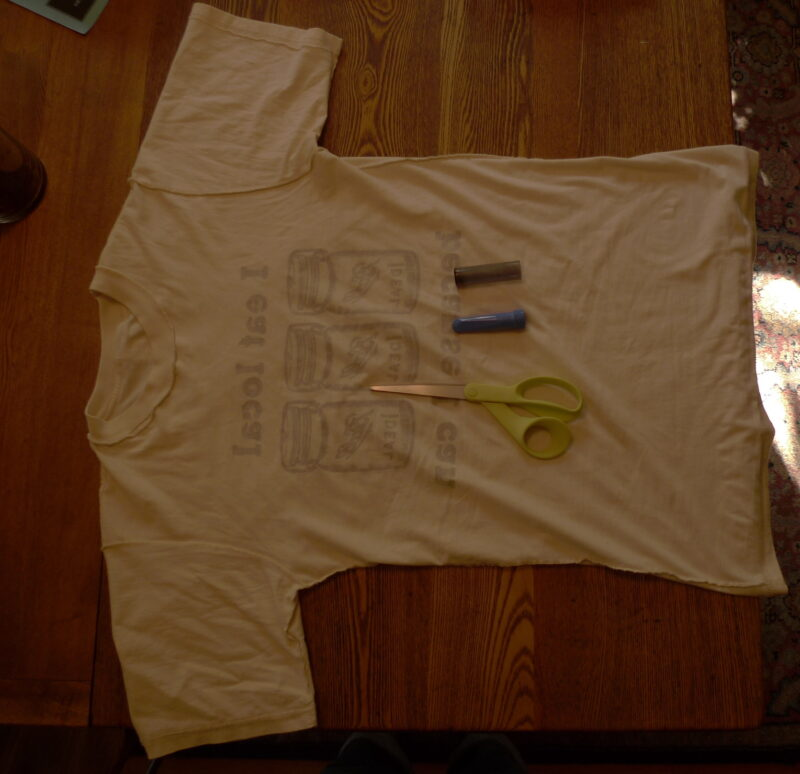 How to fix a shirt that is too big