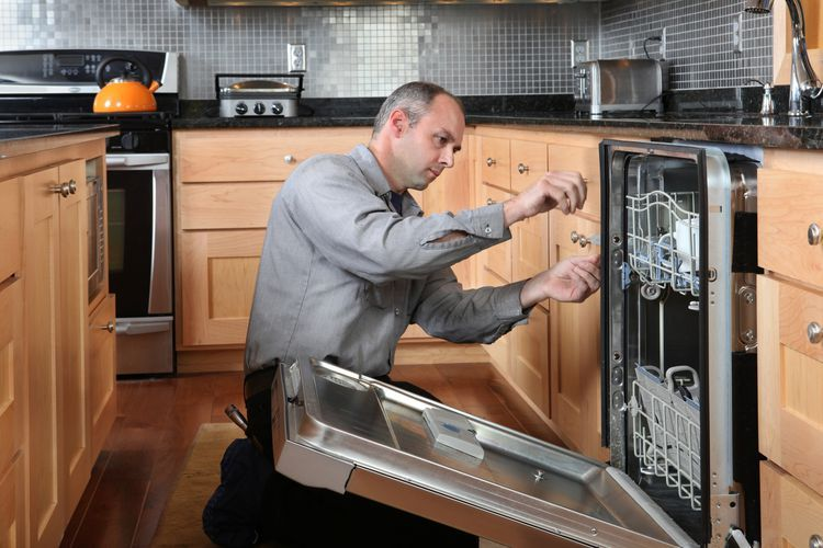 how to fix a dishwasher that won't start