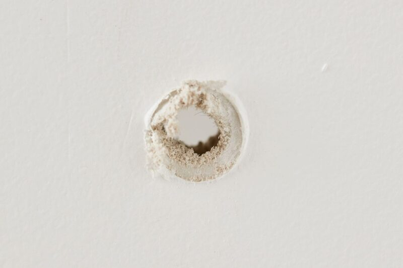 How to fix a screw hole that is too big