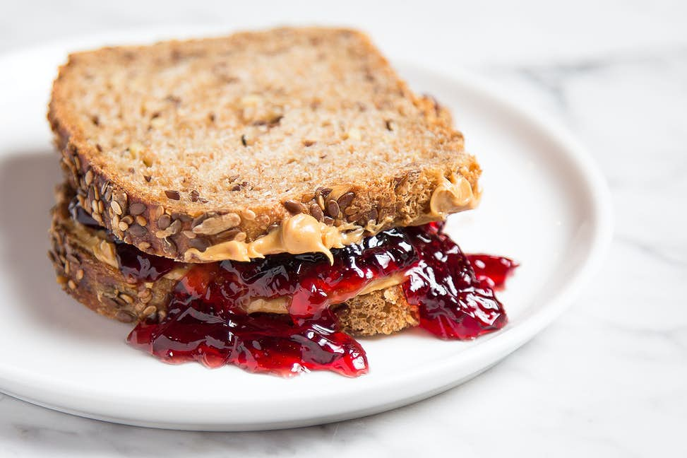 How Many Calories In A Peanut Butter And Jelly Sandwich?