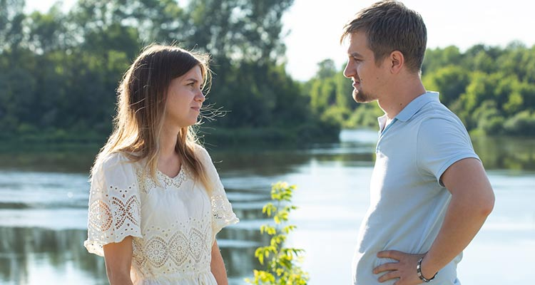 Setting boundaries with ex spouses