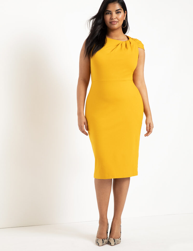 what to wear to a wedding if you are plus size