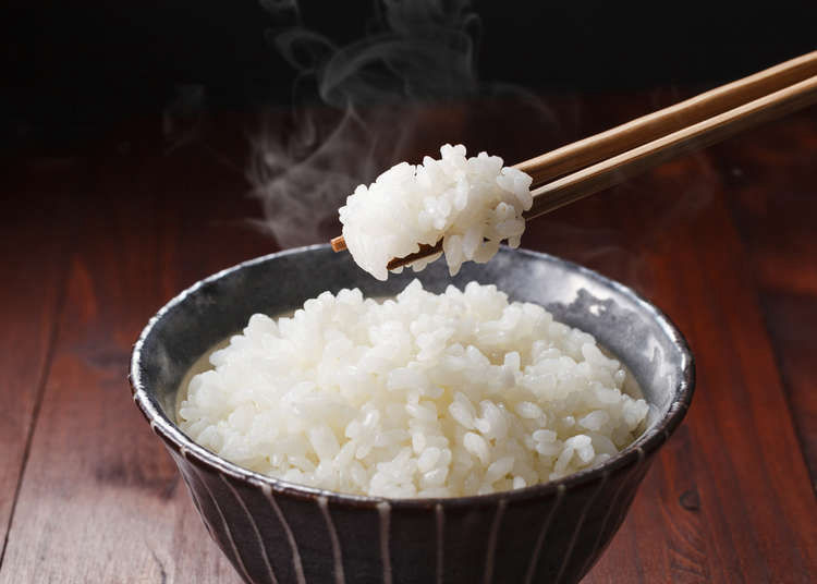 how to eat rice with chopsticks