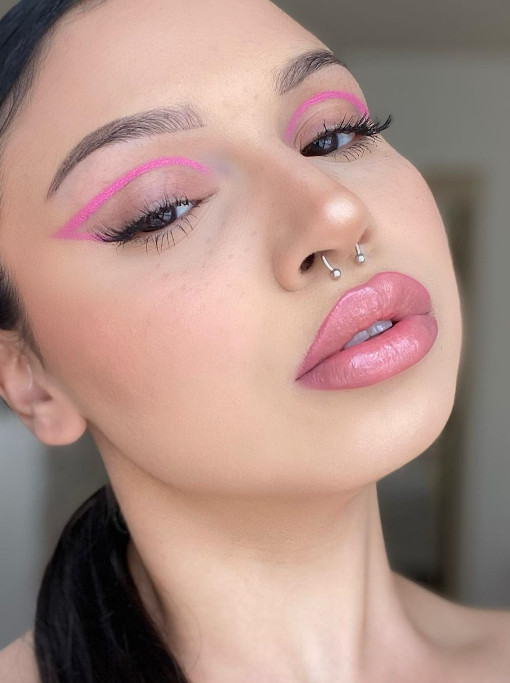 how to wear color eyeliner