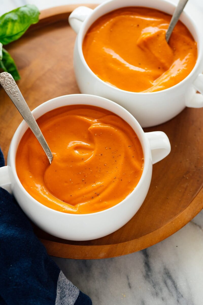 How do you thicken tomato soup