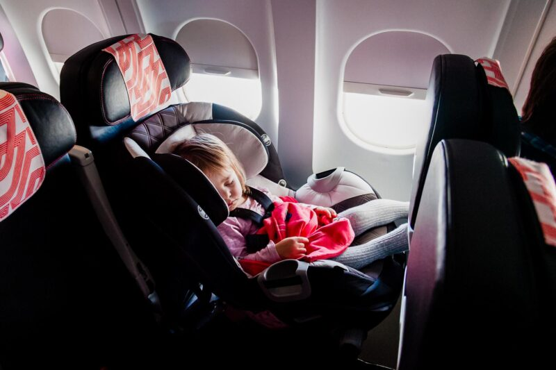 How to take a red eye flight with kids