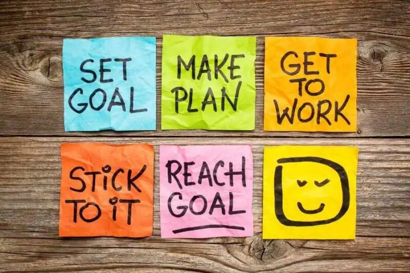 How to set and achieve goals at work