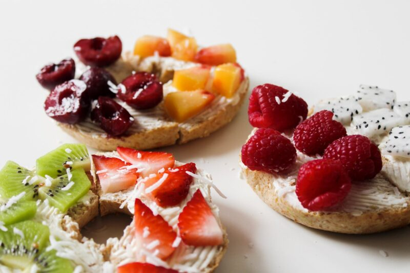 How Many Things Can Put on Bagels? Click On!