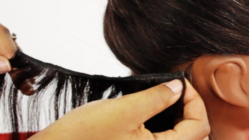 How to Get Hair Glue out of Clothes