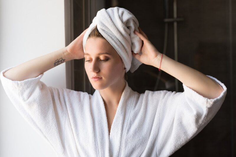 How to Wrap Your Hair in a Towel Properly?